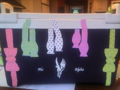 Bowties on the cooler. Mandatory.