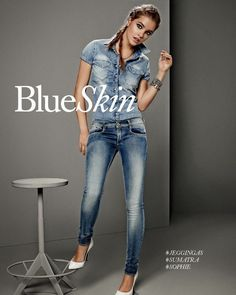 Gas Jeans Spring/Summer 2014 featuring Barbara Palvin