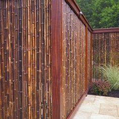 Cercos de bambú para casas de campo - Environmental Landscape Associates