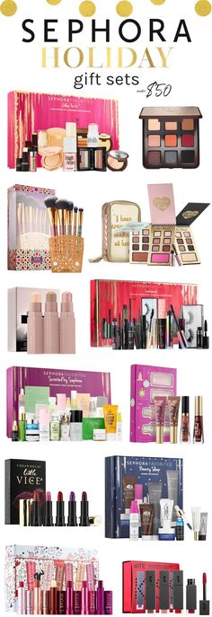 The must-have Sephora holiday 2017 sets under $50 | Click through to see the full list!