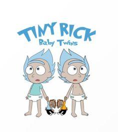 Rick and Morty x Tiny Rick