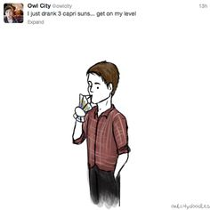 Owl City doodles