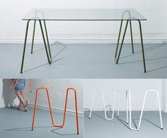 Sinus trestle — Desk/Work -- Better Living Through Design