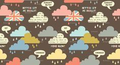 Rainy London -- I hit the jackpot finding all these London prints!!! YAY ME!!! :D <3<3<3