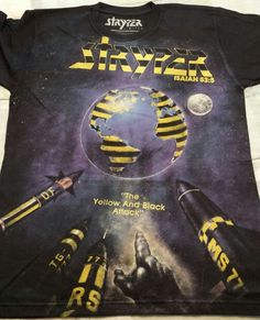 Limited edition The Yellow And Black Attack t-shirt