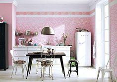 Kunterbunte Küchenstühle