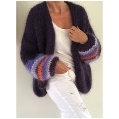 New Knitting Sweaters Cardigan Simple Ideas Knitting Designs, Knitting Patterns Free, Baby Knitting, Knitting Sweaters, Simple Knitting, Simple Crochet, Knit Fashion, Sweater Fashion, Mohair Sweater