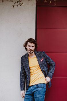 Kleiden Sie sich stilsicher mit den Casual Sakkos von Becon Berlin! Trends, Pullover, Outfit, Berlin, Blazer, Casual, Jackets, Fashion, Dark Blue