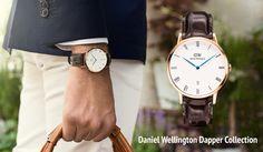 Ny Daniel Wellington kollektion på hjemmesiden: Dapper Collection.