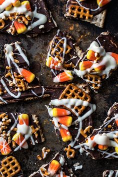 12 Clever Ways to Celebrate National Candy Corn Day - even though I HATE candy corn...