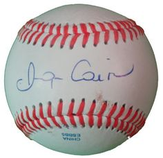Miguel Cairo Autographed ROLB Baseball, Cincinnati Reds, New York Yankees, Proof Photo by Southwestconnection-Memorabilia. $44.99. This is a Miguel Cairo autographed Rawlings official league baseball. Miguel signed the ball in blue ballpoint pen. Check out the photo of Miguel signing for us. Proof photo is included for free with purchase. Please click on images to enlarge. 1
