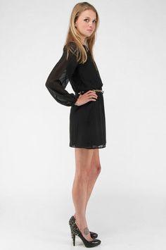 little black dress - thrift inspiration