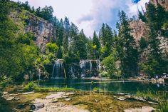 Hike to Hanging Lake, Colorado