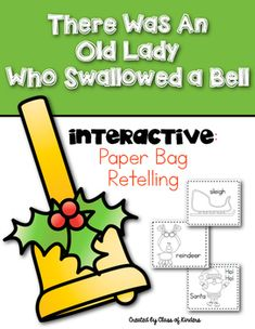 Old Lady Retelling Story Interactive and Fun for Kindergarten and First Grade. $