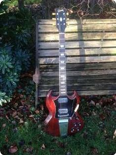 Gibson / SG Standard / 1968 / Cherry / Vintage Guitar, please share