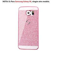 Malloom®para Samsung Galaxy S6 lujo diamante cristal rhinestone caso y la cubierta Fundas y Carcasas (rosa) - http://www.tiendasmoviles.net/2017/06/malloompara-samsung-galaxy-s6-lujo-diamante-cristal-rhinestone-caso-y-la-cubierta-fundas-y-carcasas-rosa/