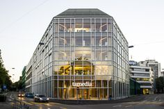 Shigeru Ban Tamedia Office Building  #architecture #shigeruban Pinned by www.modlar.com