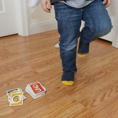 UNO Movement Game for Kids | Could tie it to Yoga Poses too! So fun.