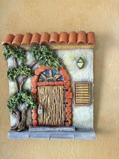 From mini shorts… Diy Crafts Slime, Slime Craft, Clay Crafts, Diy And Crafts, Arts And Crafts, Ceramic Painting, Stone Painting, Ceramic Art, Clay Fairy House