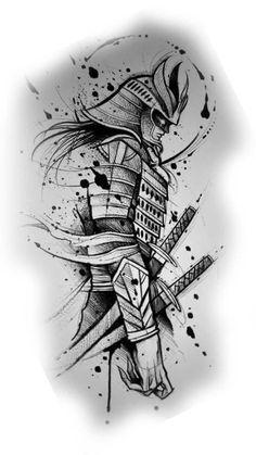 samurai diseño tattoo   japanese tattoos designs #