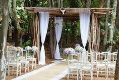 Resultado de imagem para decoraçao de casamento com tecido jacquard