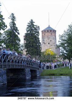 St Olaf's Castle and Bridge, Finland