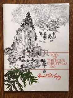 1969 Marshall Fields & Co Chicago Toys Of The Hour Christmas Catalog Space…