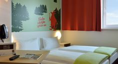 Zweibettzimmer im B&B Hotel Aschaffenburg