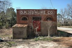 Dismuke Storehouse in Sumter County, Georgia.