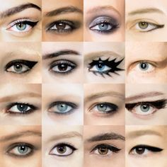 The Great Eyeliner Grid: Tracing the Kohl-Rimmed Looks of Spring 2015 Fashion Week – Vogue
