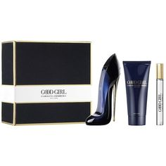 Carolina Herrera Women's Good Girl Gift Set (375 BRL) ❤ liked on Polyvore featuring beauty products, gift sets & kits, carolina herrera and eau de perfume