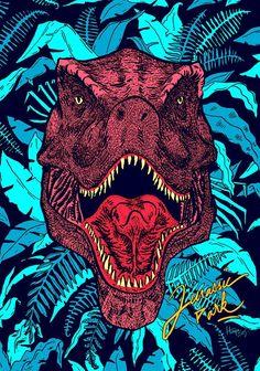 Jurassic World, Jurassic Movies, Arte Do Hip Hop, Pop Art, Dinosaur Wallpaper, Acid Art, Skateboard Design, Dinosaur Art, Prehistoric Animals