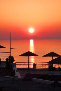 Santorini, Oia most beautiful sunset