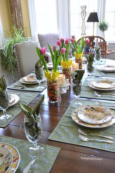 Spring/Easter Table - Housepitality Designs