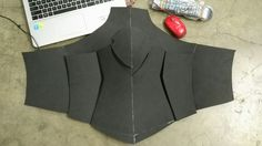 Making Mordred costume from Fate Apocrypha process . Base body armor with details