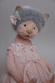 Мишки Тедди ручной работы. Ярмарка Мастеров - ручная работа. Купить Lucille. Handmade. Кремовый, teddy, хлопок