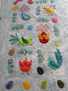 Birds by Jessica's Quilting Studio, via Flickr