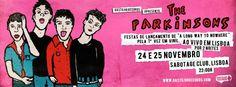 The Parkinsons - 24 e 25 de Novembro, Sabotage Rock Club, Lisboa - World Of Metal