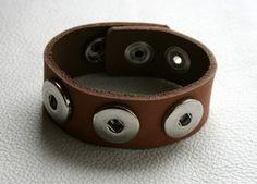 Leder - Armband