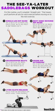 Single-Leg Hip Raise  http://www.womenshealthmag.com/fitness/see-ya-later-saddlebags-workout