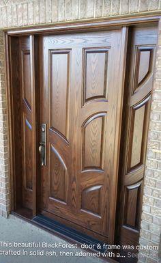 Benefits of Using Interior Wood Doors Wooden Front Door Design, Door Gate Design, Wood Front Doors, Modern Wooden Doors, Custom Wood Doors, Custom Interior Doors, Door Design Interior, Dara Singh, House Doors