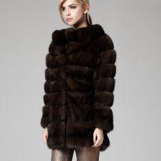 Lilly e Violetta Milano 'Milano' 80cm sable jacket £45,000 | lillyevioletta.com