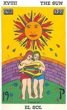The Sun - Tarot Balbi