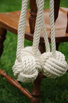 Nautical Wedding Knots - Aisle for ceremony or Bride and Groom's chair backs