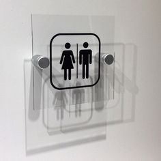 Classy Toilet Signs  Rest room Door Signs made Sophisticated by www.de-signage.com/Officesigns.php