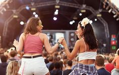 This Playlist Will Make You Feel Like You're Working Out at a Music Festival