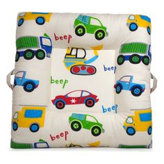 Traffic Jam - LaLaLounger #nursery #playroom #kids #babies #lalalounger