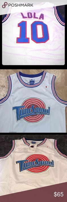 Lola Bunny Toon Squad stitched jersey, Lg, NWT!! Boutique