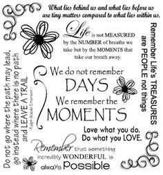 'Moments...'