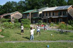 Children Playing in Song Neighborhood